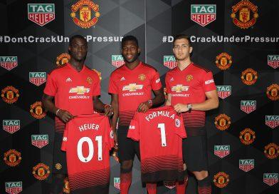 Manchester United: TAG Heuer apresenta novos modelos de relógio para os fãs dos 'Red Devils'
