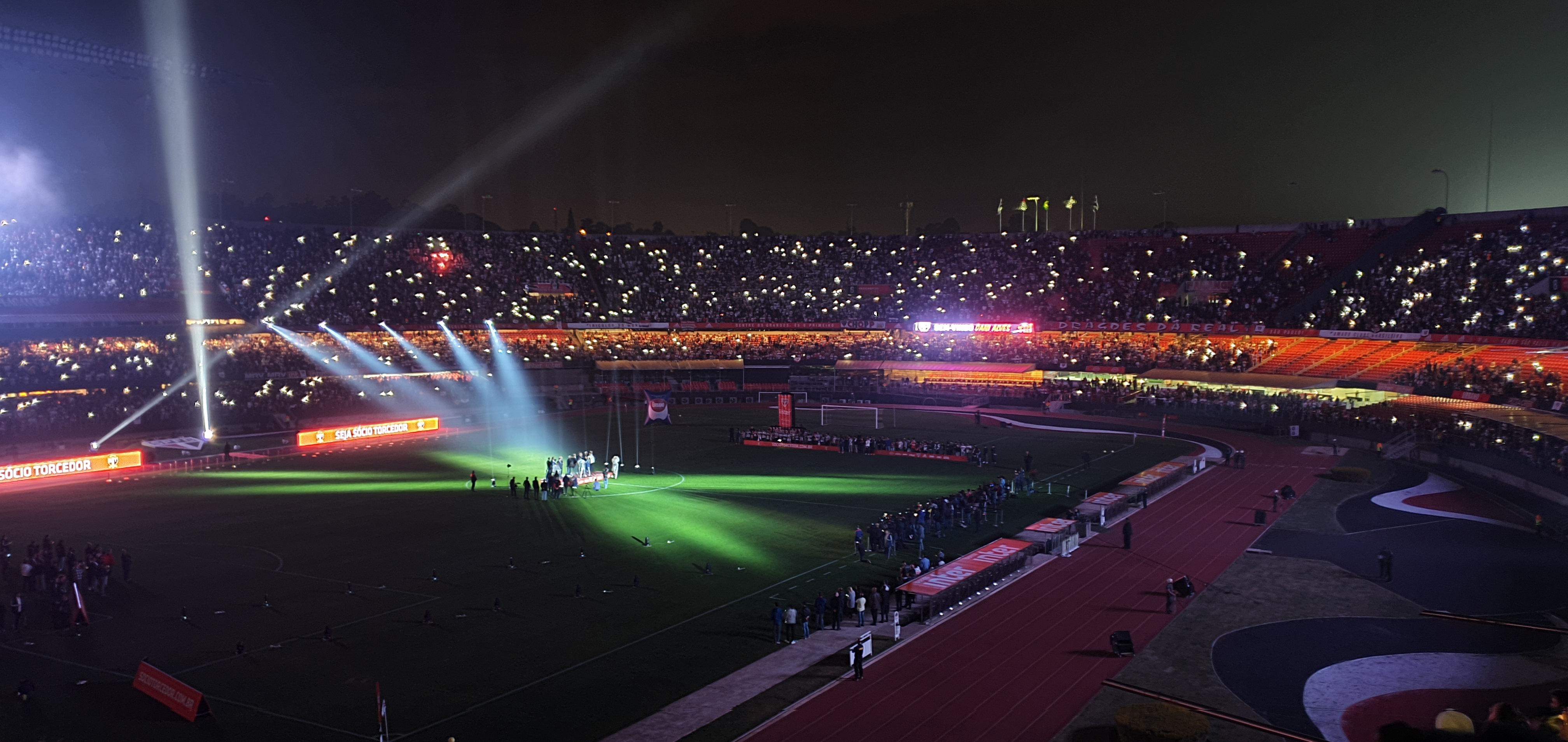 Melhores estádios de São Paulo